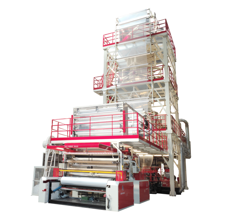 Five-layer Co-extrusion Blown Film Machine